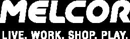white melcor developments logo